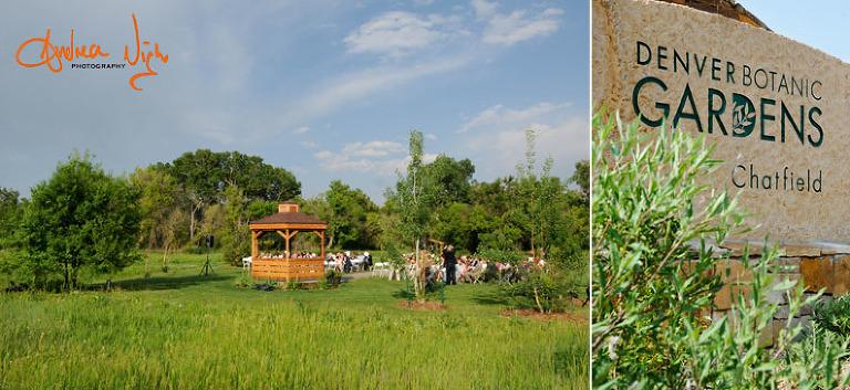 Leslie & Christian\'s wedding. Denver Botanic Gardens at Chatfield ...